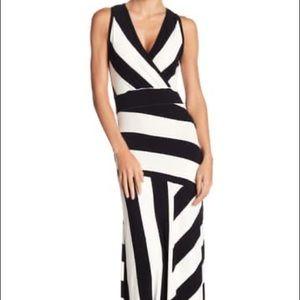Go Couture New Sleeveless Maxi Stripe Dress Small